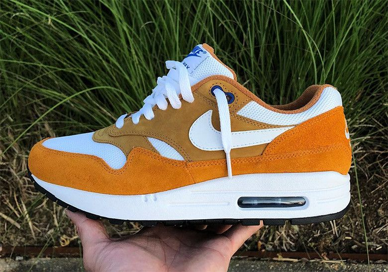 """the best attitude fbf39 0e9b0 The Air Max 1 """"Curry"""" one of the most prized general releases in Nike"""