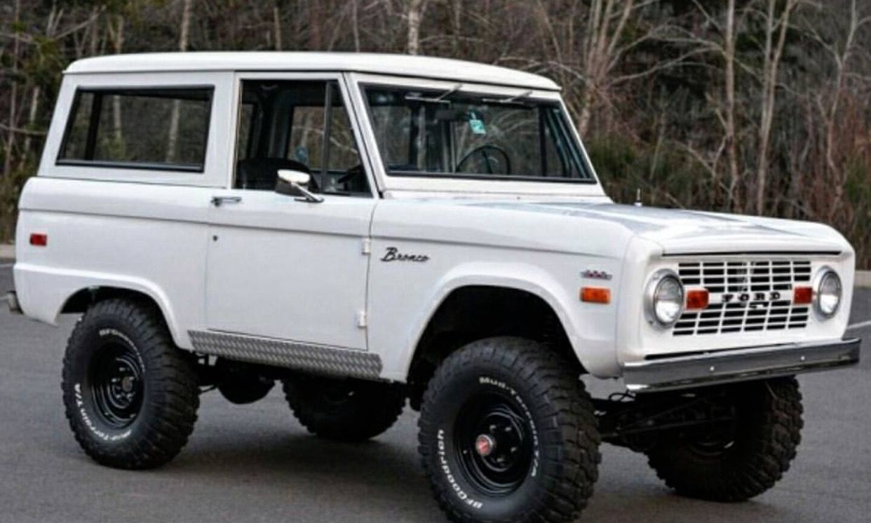 Ford Bronco Ford Bronco Classic Ford Broncos Old Ford Bronco