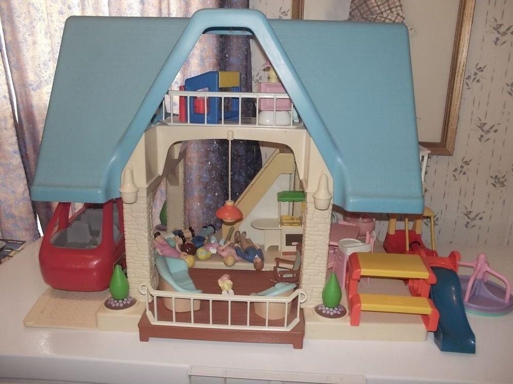 Vintage Little Tikes Dollhouse