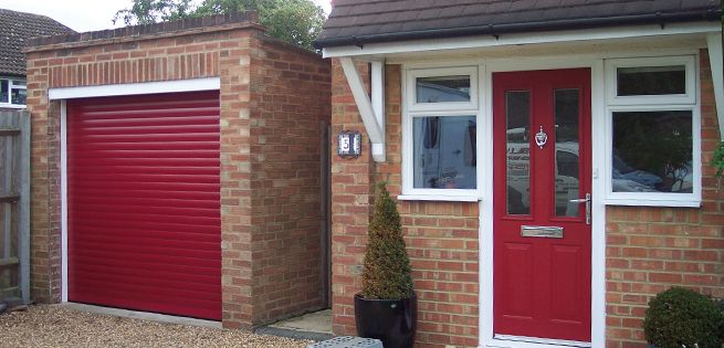 If You Re Painting Your Door A Rich Red Shade Why Not Do