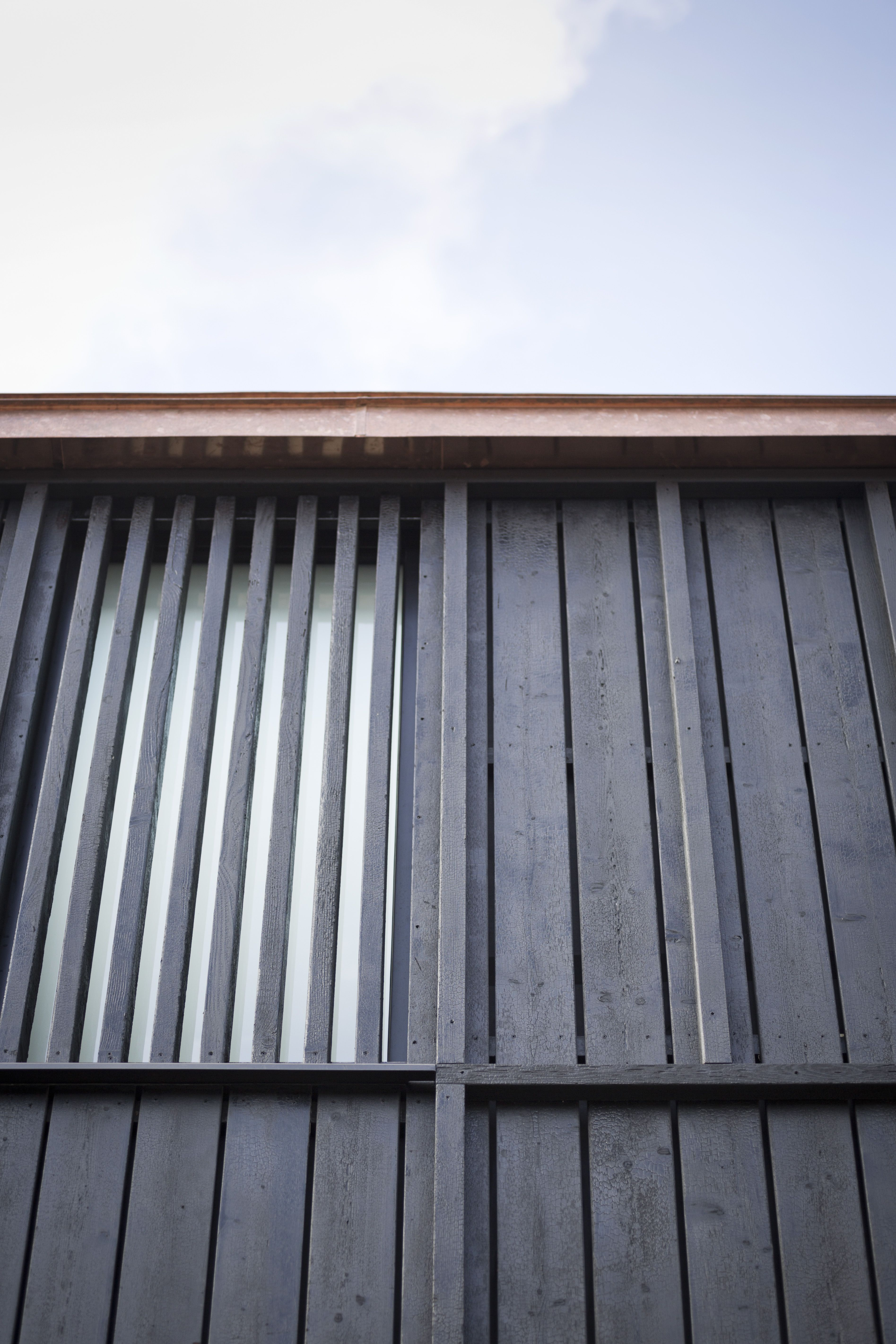 Untreated Copper Roofing Scullion Architects Timber Exterior Solutions Timber Cladding