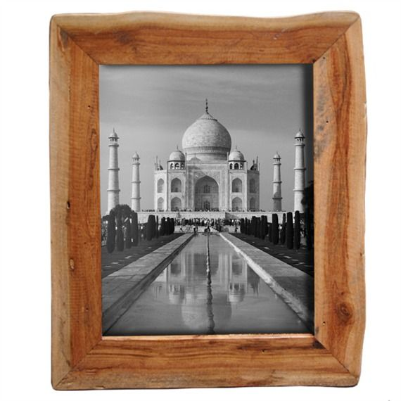 reclaimed natural wood frame 8x10 431120044 - Natural Wood Picture Frames