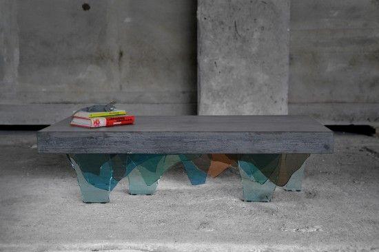 Concreto Coffee Table by Daniele Ragazzo