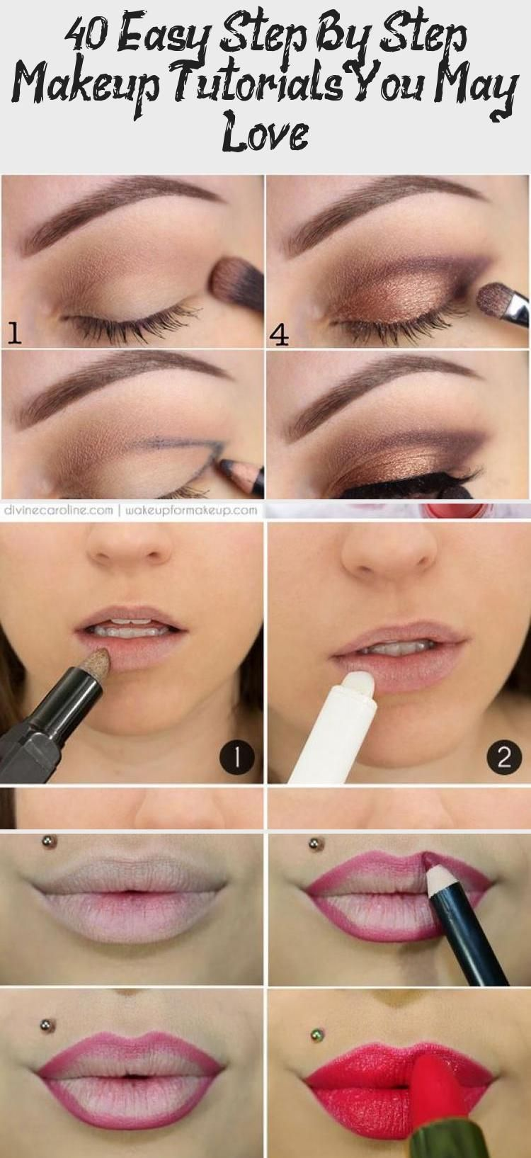 40 Easy Step By Step Makeup Tutorials You May Love Make