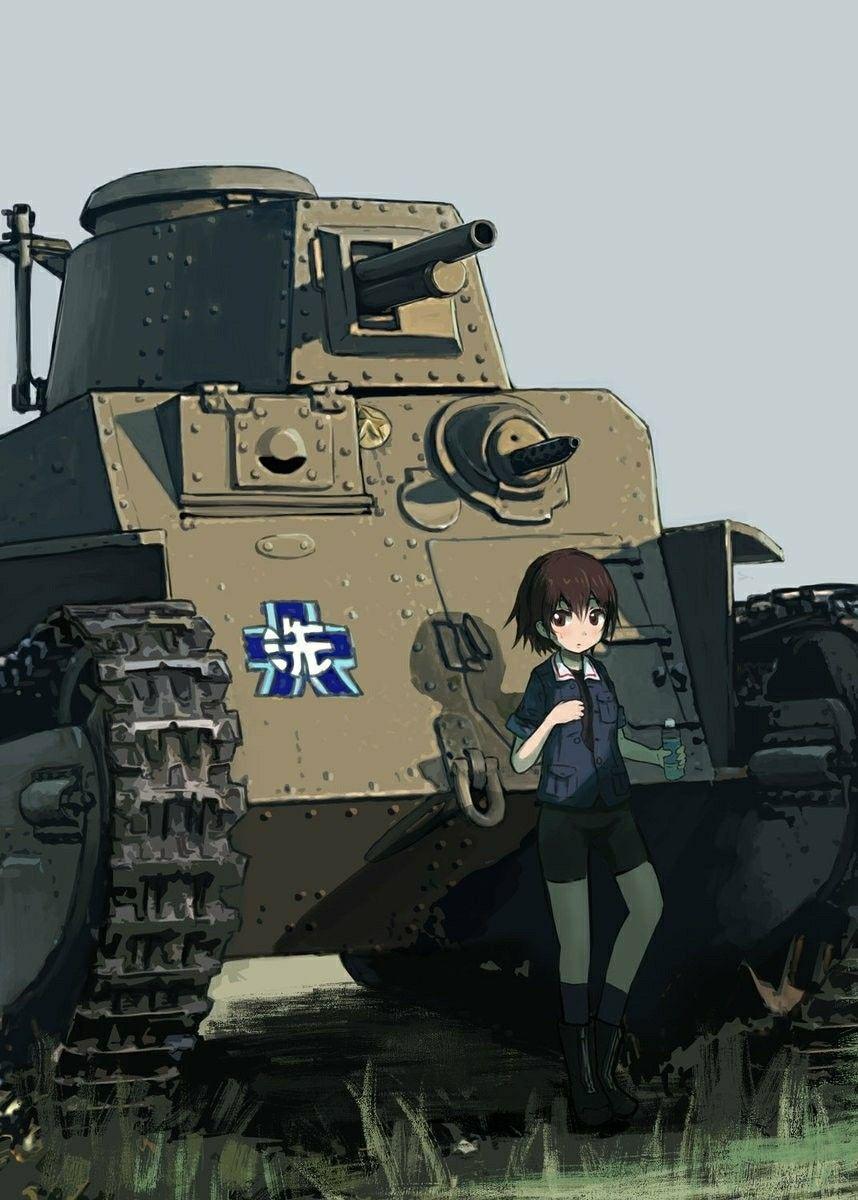 Girls Und Panzer Light Tank Anime Military Anime Tank Tank Girl