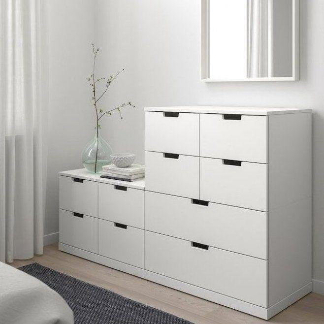 NORDLI Kommode mit 10 Schubladen - wei   - IKEA #housedecor #decorstyles #decoratingstyles #homedecorstyles #homedecor