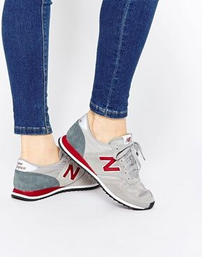 good looking look good shoes sale half price New Balance Grey Red 420 Trainers | shoes in 2019 | New balance ...