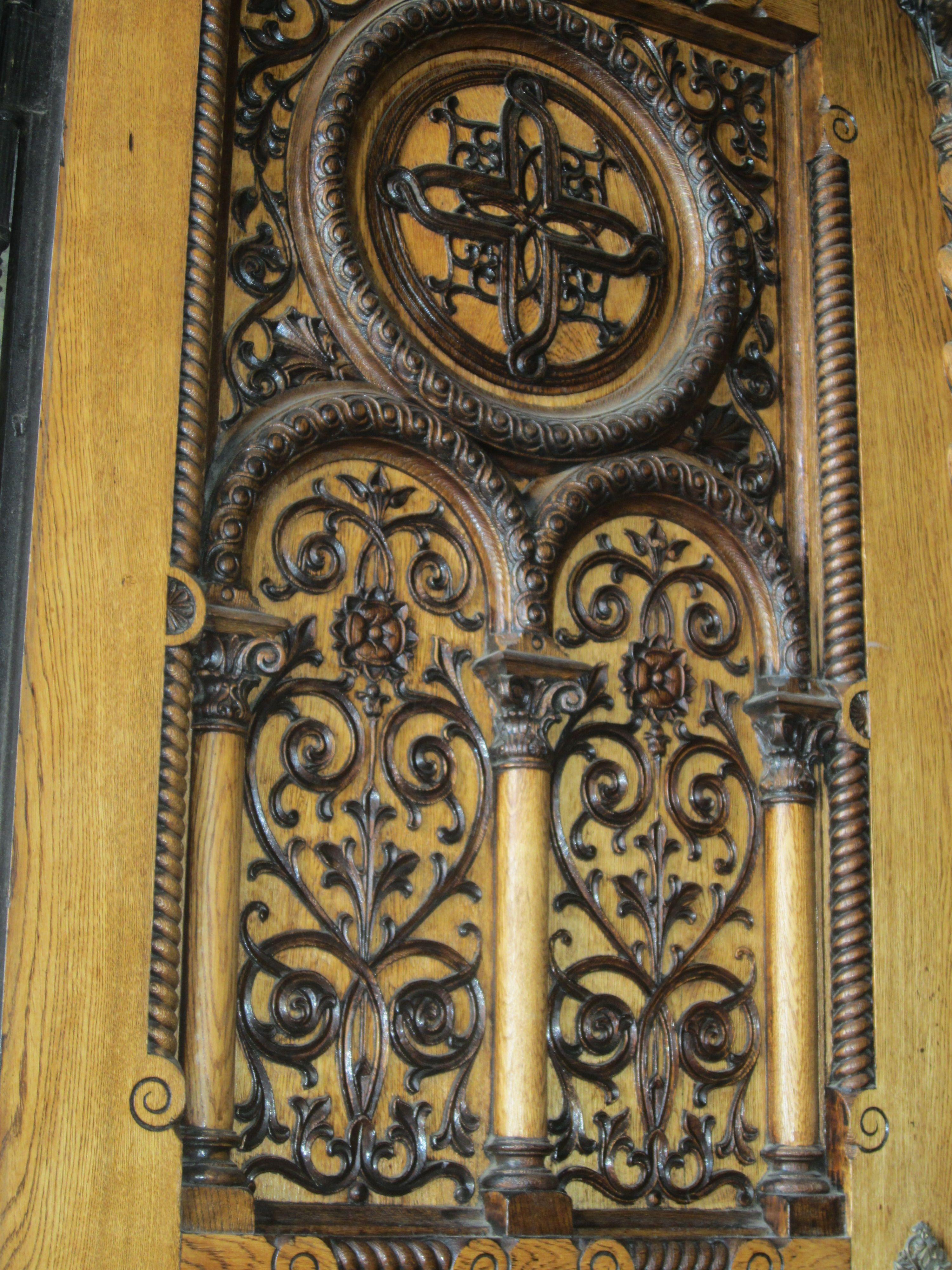 Church door detail