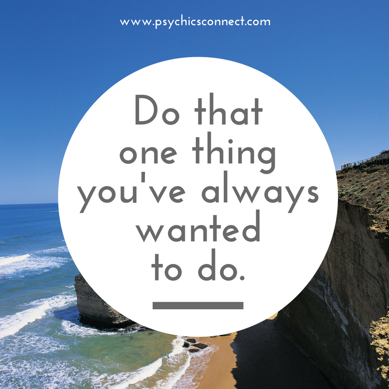 Tip of the day: Do that one thing you've always wanted to do.  We all have one simple thing (or a few) in our bucket list that we really want to do and it is so easy that we can start anytime but for some reason, we are not doing anything about it. It could be learning a new skill, attending a cooking class, starting a healthier eating habit, learning to play the piano, etc. Stop procrastinating – do something today!