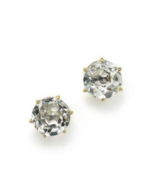 Ippolita 18k Rock Candy Medium Round Stud Earrings wnNRcR