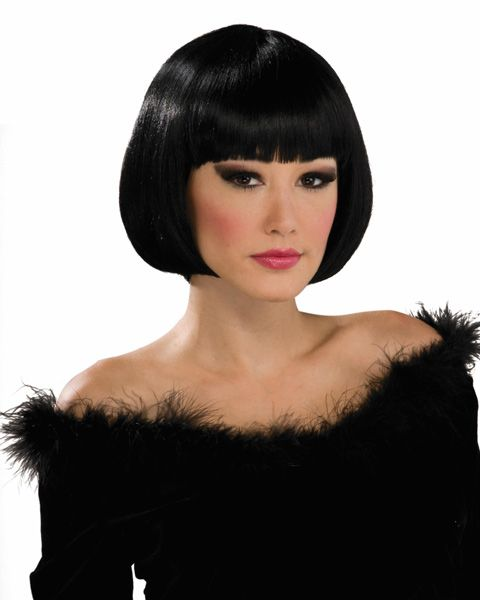 Short Black Wig - To wear with Quorra costume