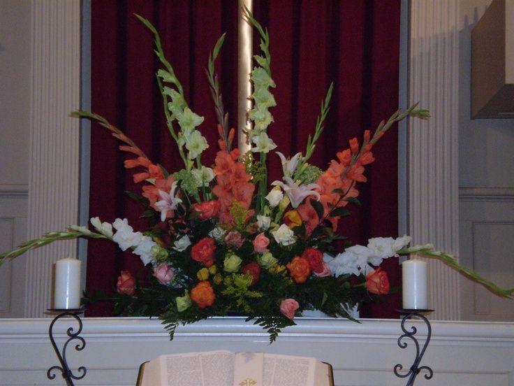 Fall Flower Arrangements For Church Altar Fall Flower Arrangements Flower Arrangements Fall Flowers