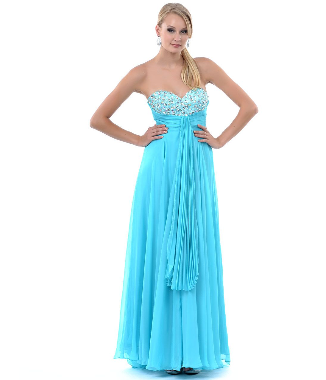 Turquoise Blue Formal Dresses for Women | Dress images