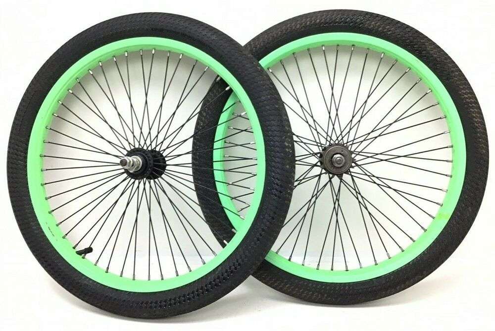 2 New 12 1//2 x 2 1//4 Youth Child BMX Bike Tires Black Pair