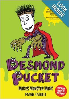 Desmond Pucket Makes Monster Magic (Amp! Comics for Kids): Mark Tatulli: 9781449435486: Amazon.com: Books