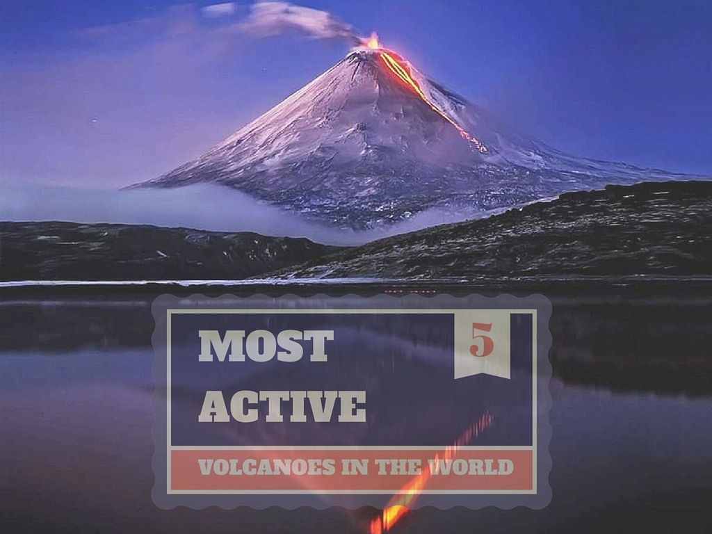 5 Most Active Volcanoes In The World | Active volcano ...
