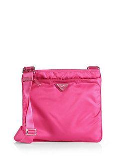 Prada - Vela Crossbody Bag