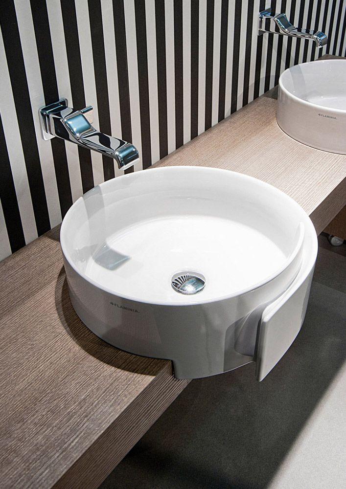 Lavabo Roll da Flaminia | #design #arredobagno | | arredo bagno ...