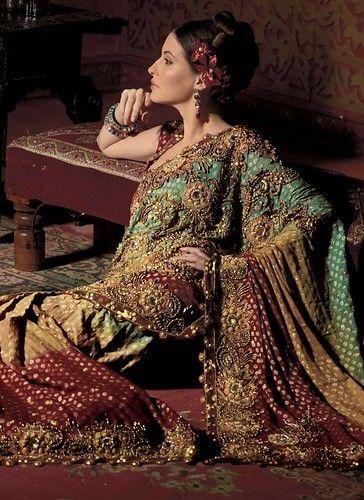 Desi fashion police saree blouse