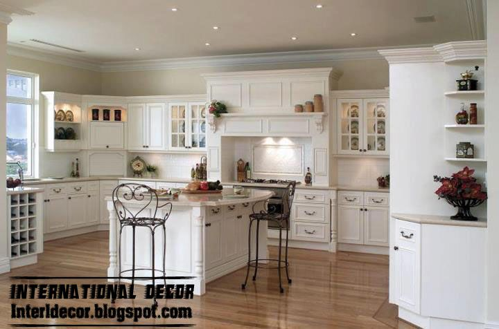 Classic Kitchen Cabinets Magnificent Classic Kitchen Cabinets Design Wood Kitchen Cabinets Design White Design Inspiration