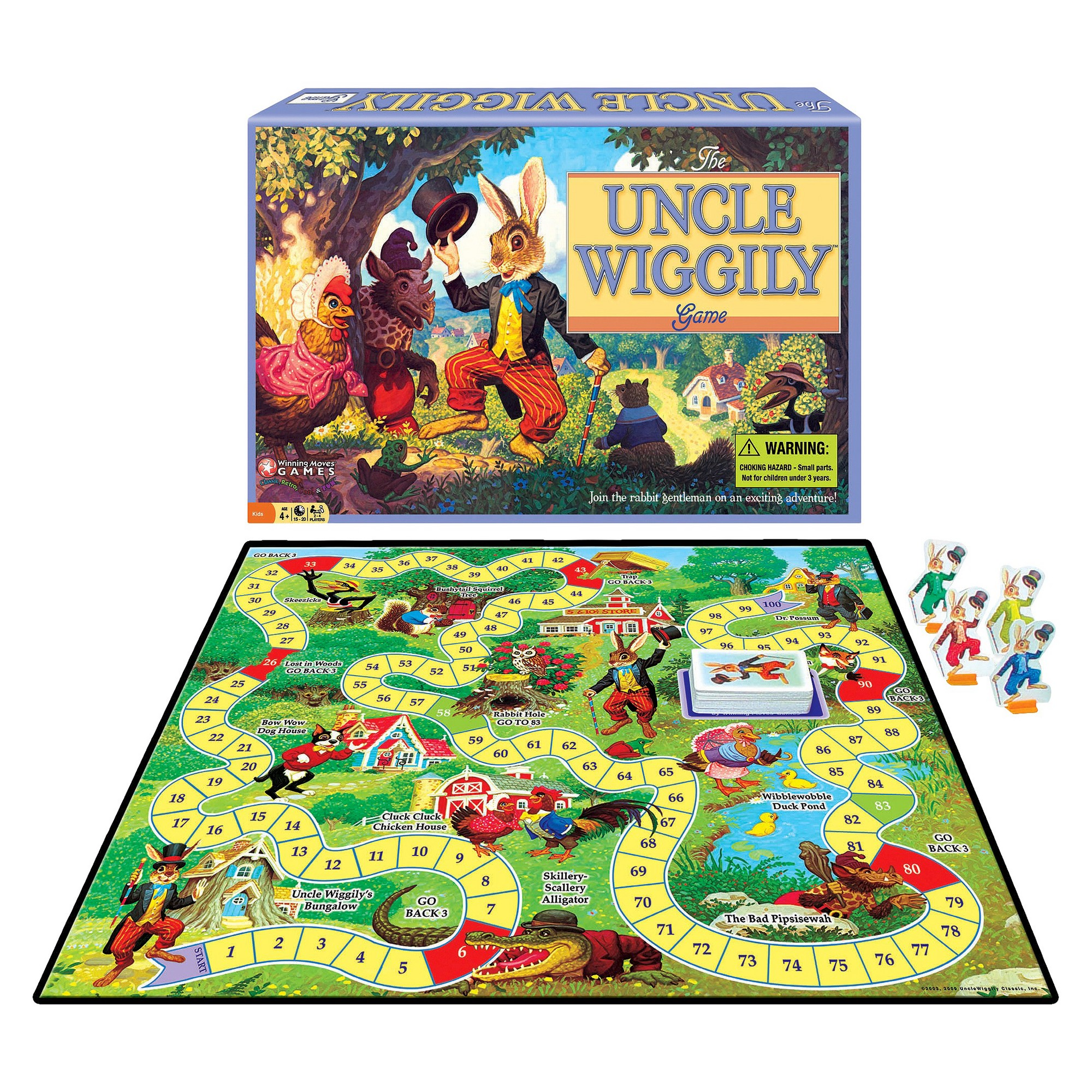 Uncle Wiggily Board Game, Board Games Board games, Games