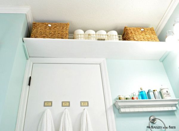 Vintage Inspired Guest Bathroom Reveal Tiny Bathrooms Bathroom