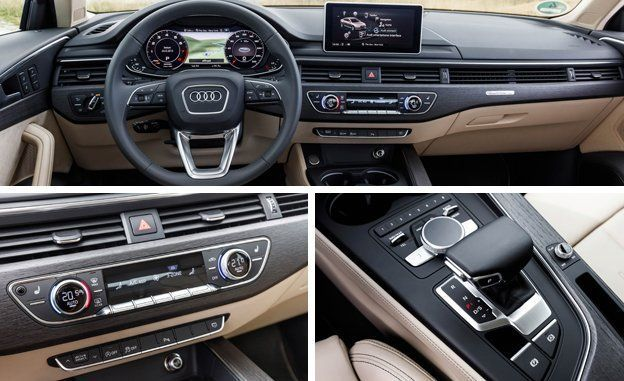 Audi A4 2017 New Security Features