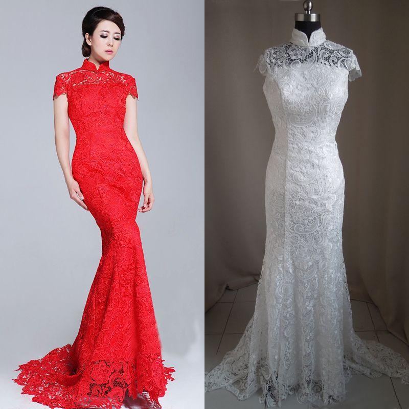 chinese wedding gown! | wedding | Pinterest | Wedding dress ...