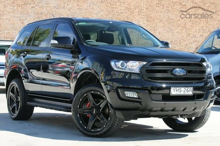Ford Everest All Black With Images Ford Ranger Ford