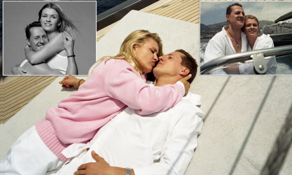 Holiday Pictures Of Michael Schumacher And His Wife Michael