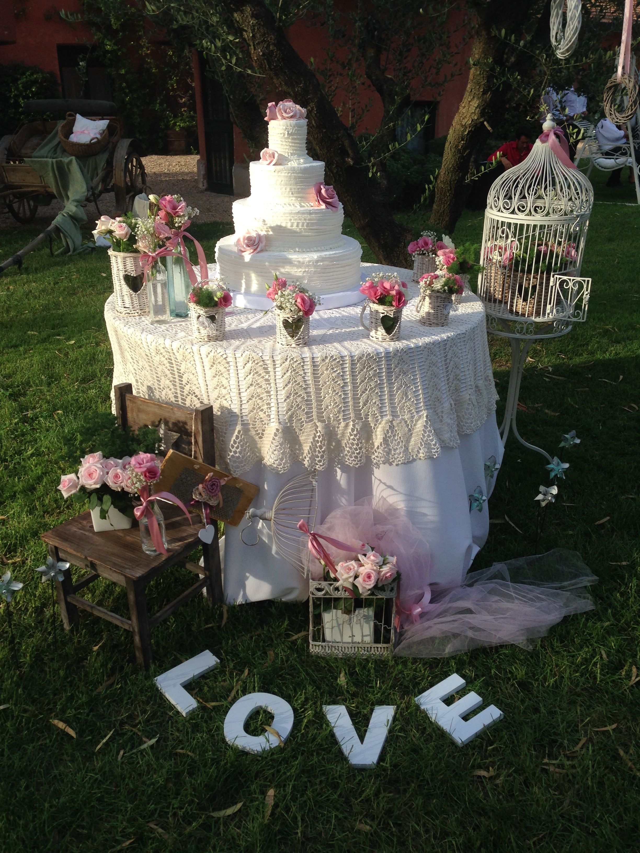 Matrimonio In Stile Country : Torta matrimonio stile country allestimenti floreali per