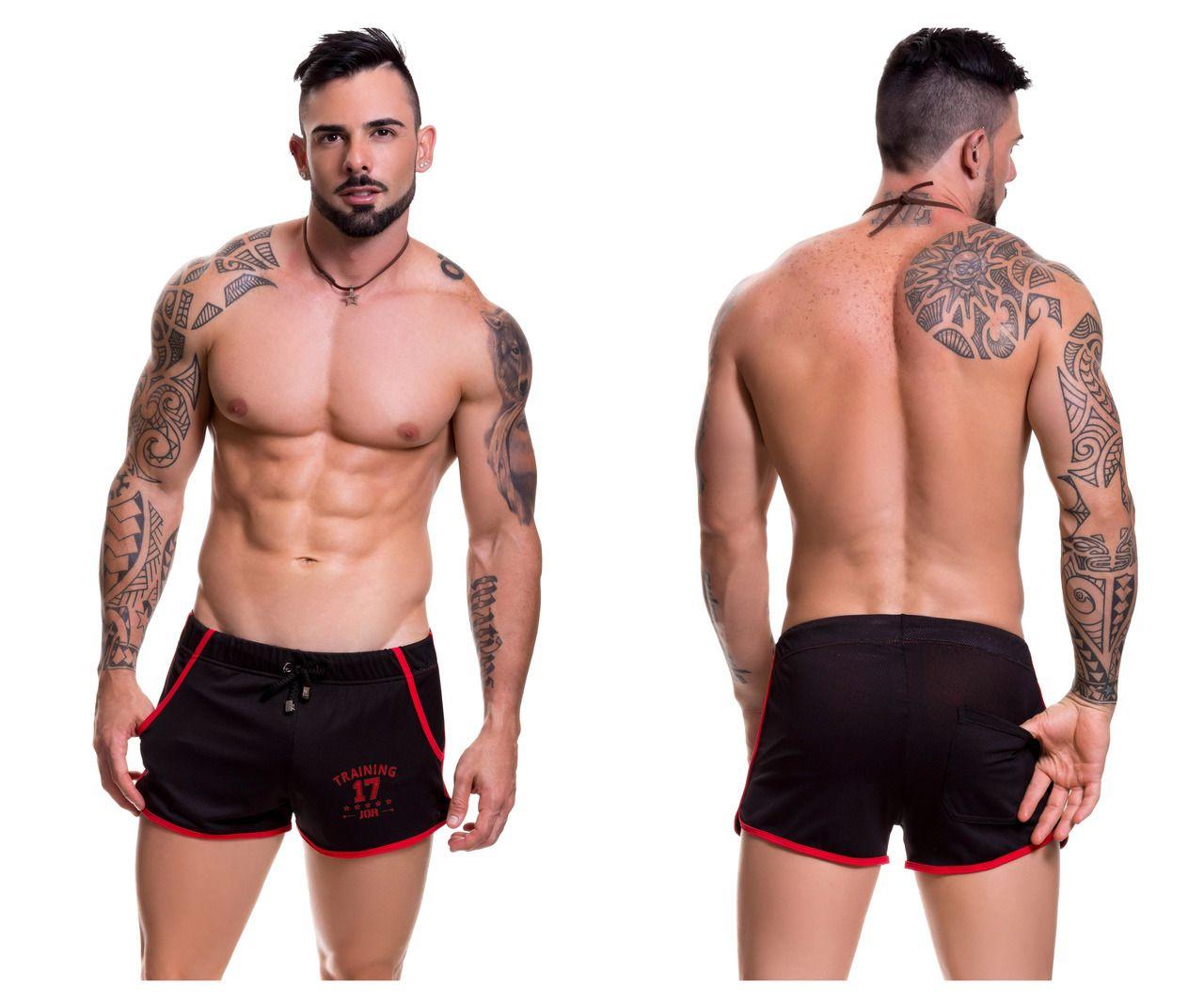 39b98a92a61f 0300 JOR Ultra Athletic Shorts Color Black - Fetish Underwear Sales ...