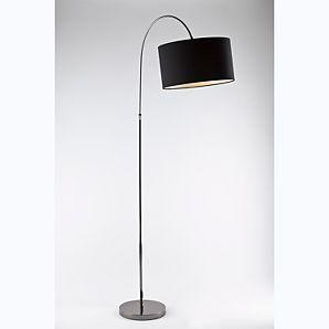ASDA Black Arc Floor Lamp