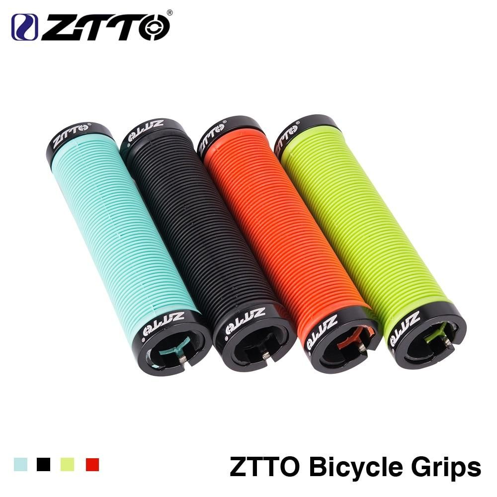 Silicone Bike Use Anti-slip Shockproof Handlebar Grips For MTB Bicycle Cycling