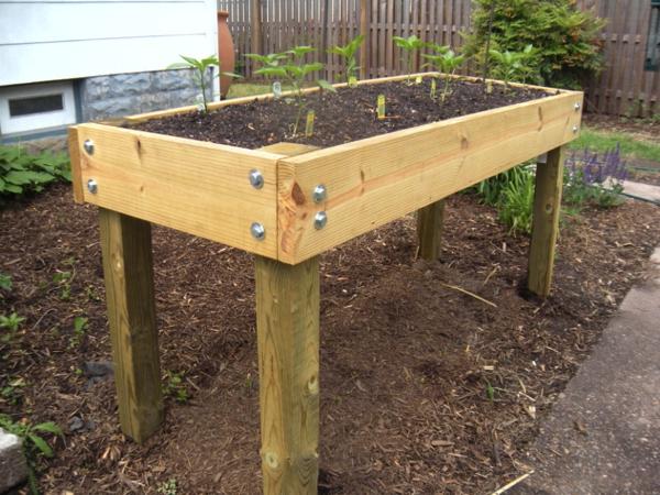 Waist high planter box plans google search gardening - Waist high raised garden bed plans ...