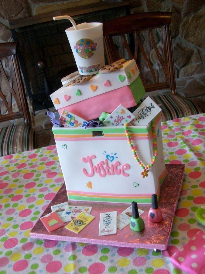 Justice shopping bag cake   My Cakes   Pinterest   Best Bag cake ...