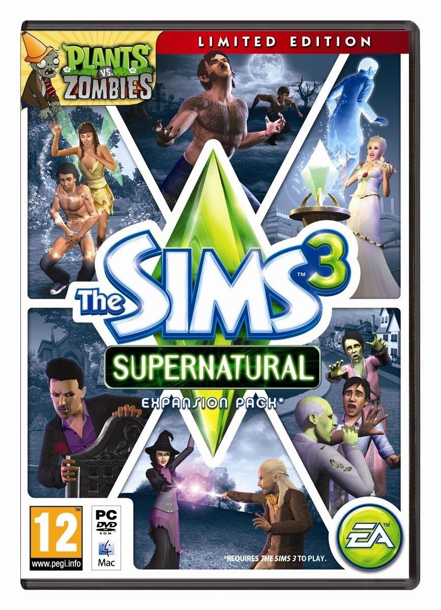 expanso the sims 3 sobrenatural gratis