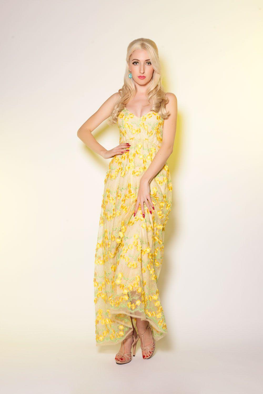 Coming up daisies maxi dress spring pinterest pinup girl