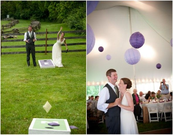 Backyard Wedding Games top 10 backyard style weddings from 2013 | pinterest | backyard