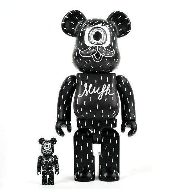 Medicom 400/% Bearbrick ~ Disnry Mickey Mouse Be@rbrick B/&W Version