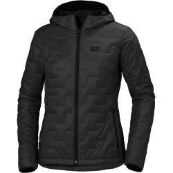 Photo of Helly Hansen Woherr Lifaloft Hooded Insulator Winter Jacket Midlayer Black XsHellyhansen.com