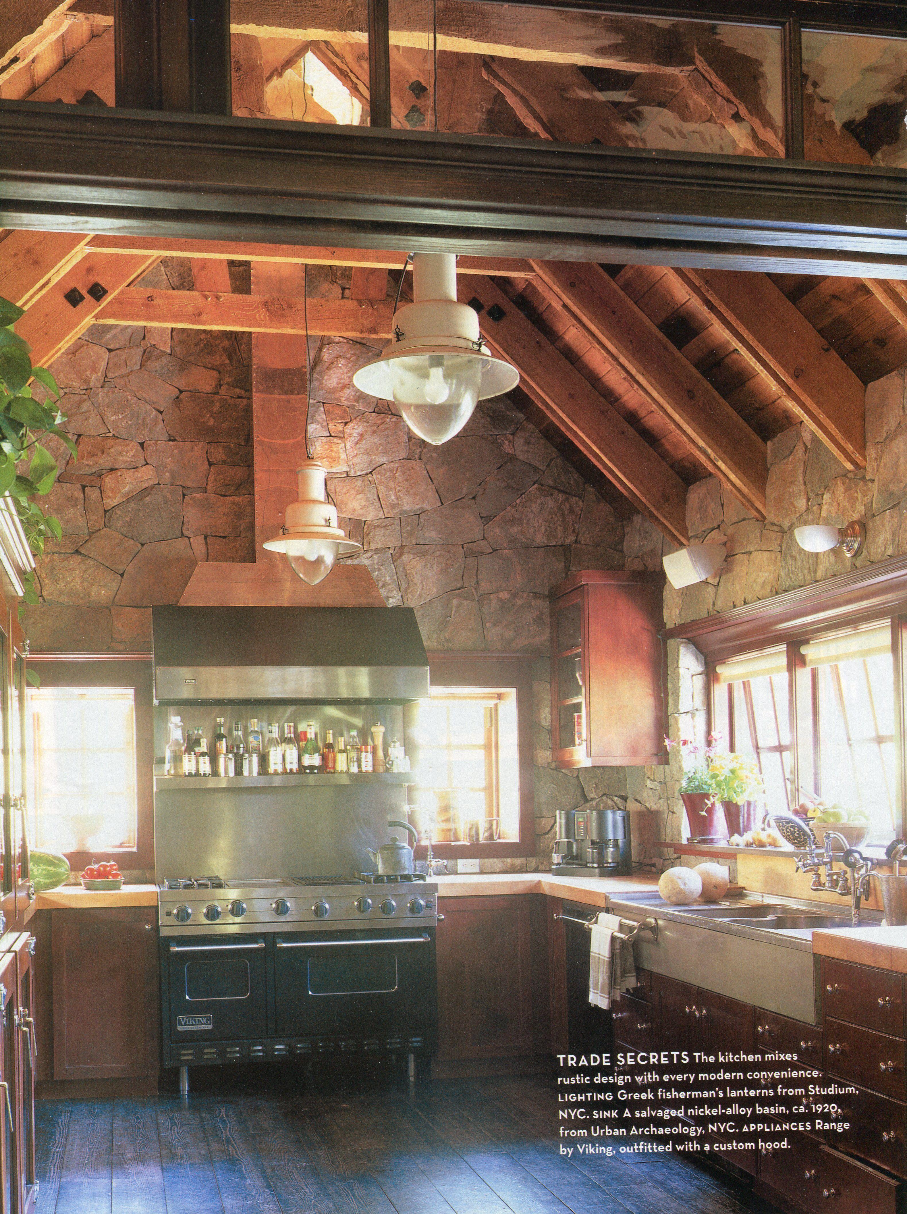 Rustic kitchen beautiful homes pinterest rustic kitchen