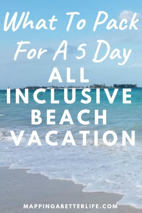 What To Pack For A 5 Day Beach Vacation #beachvacationclothes