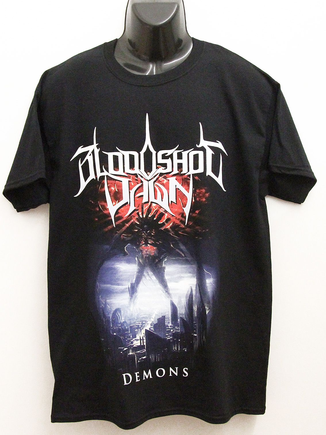 Nice detailed screen print tee for bloodshot dawn by the epcc nice detailed screen for by the epcc pooptronica