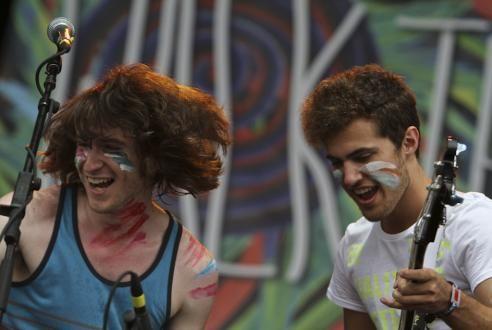 Walk the Moon at Lollapalooza 2011