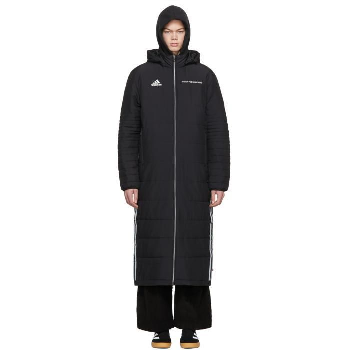 new style 8d00c fa29e  Valentines  AdoreWe  SSENSE -  Gosha Rubchinskiy Gosha Rubchinskiy Black adidas  Originals Edition Wind Coat - AdoreWe.com