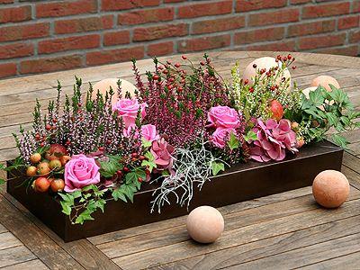 Bildergebnis für heidekraut dekorieren   Kvety   Fall ...