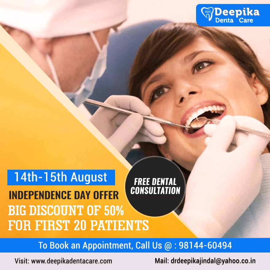 Deepika Denta Care is organizing an #Independence #Day ...