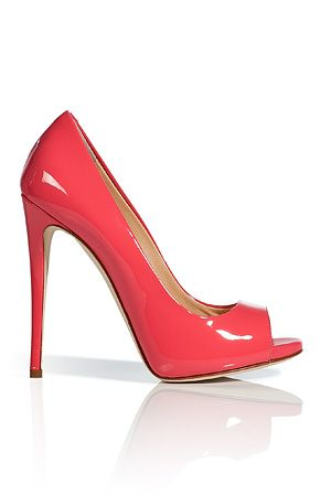 f048e96b4fe Coral Giuseppe Zanotti open toe pumps {salmon} | Shoes, Glorious ...