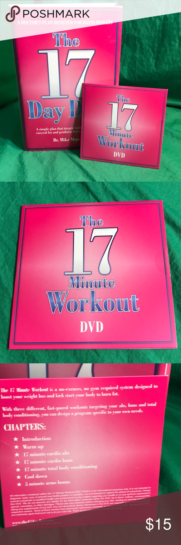 The 17 Day Diet Hardcover Workout Dvd 17 Day Diet Workout Dvd 17 Day